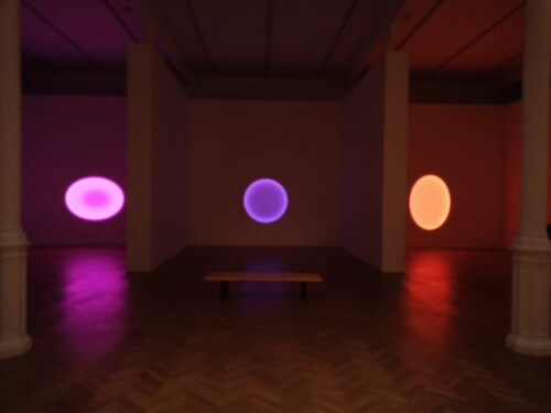 James Turrell constellations exhibition - PACE London Gallery